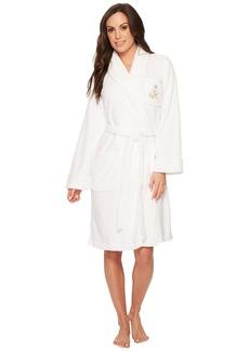 Ralph Lauren Folded So Soft Short Shawl Collar Robe