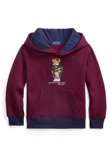 Ralph Lauren Football Bear Fleece Hoodie
