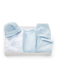 Ralph Lauren Four-Piece Layette Set