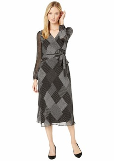 Ralph Lauren Franny Long Sleeve Day Dress