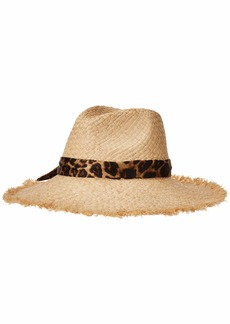 Ralph Lauren Fray Edge Sun Hat with Fabric B