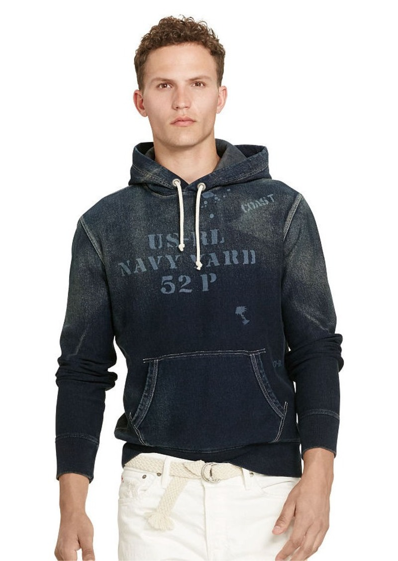 Ralph Lauren French Terry Graphic Hoodie