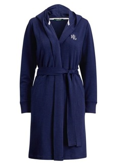 Ralph Lauren French Terry Hooded Robe