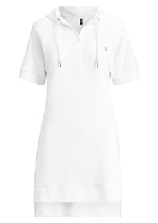 Ralph Lauren French Terry Hoodie Dress