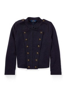 Ralph Lauren French Terry Military Jacket