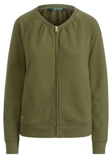 Ralph Lauren French Terry Mockneck Jacket