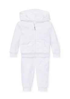 Ralph Lauren French Terry Zip-Up Jacket w/ Sweatpants