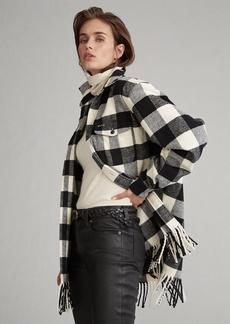Ralph Lauren Fringe Buffalo Check Shirt