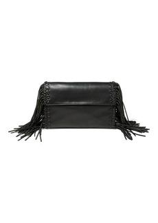 Ralph Lauren Fringe Leather Clutch