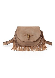 Ralph Lauren Fringe Convertible Crossbody
