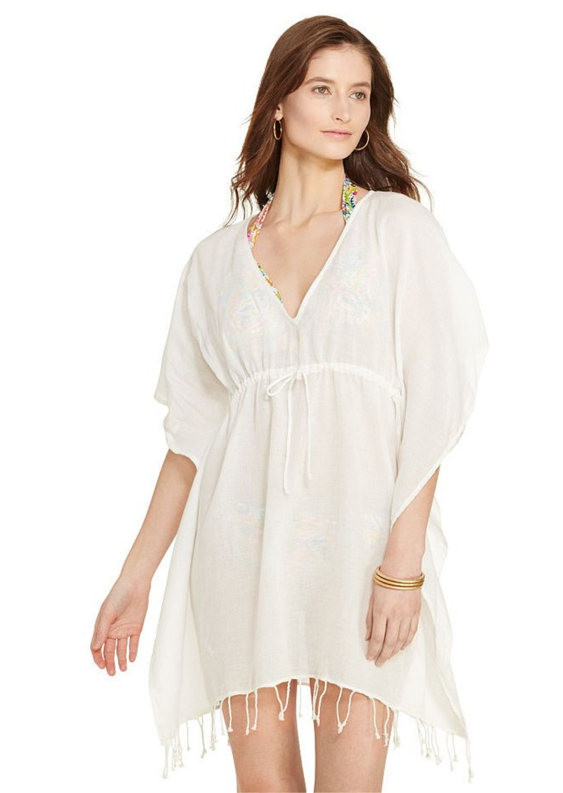 Ralph Lauren Fringed Cotton Tunic