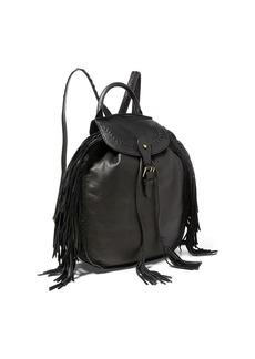 Ralph Lauren Fringed Leather Backpack