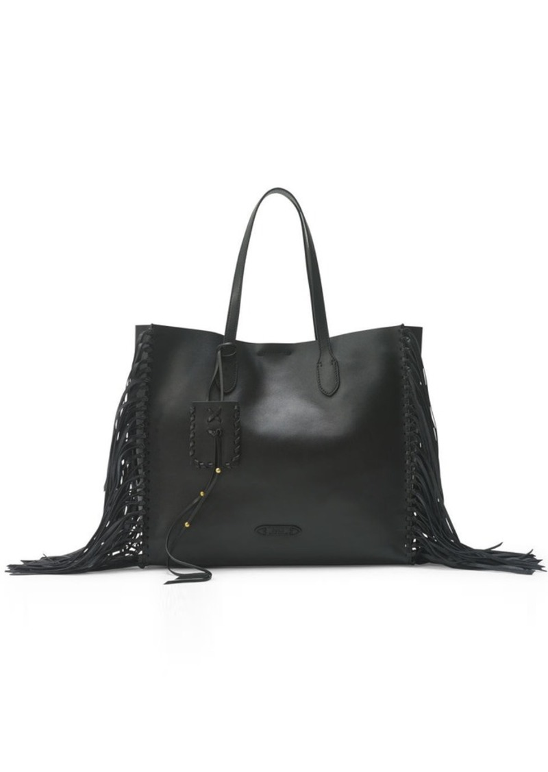 Ralph Lauren Tote Laukku : Ralph lauren fringed leather tote handbags it to me