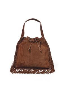 Ralph Lauren Fringed Suede Sling Bag