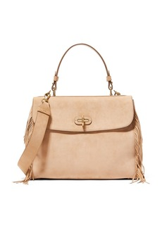 Ralph Lauren Fringed Suede Tiffin 33