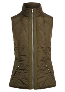 Ralph Lauren Full-Zip Mockneck Vest