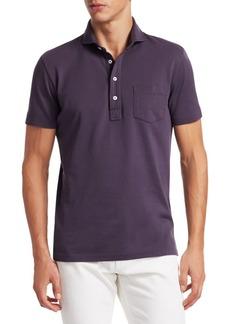 Ralph Lauren Garment Dyed Piqué Polo Tee