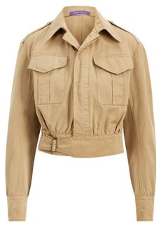 Ralph Lauren Garrison Cotton-Linen Jacket