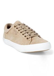 Ralph Lauren Geffrey Suede Low-Top Sneaker