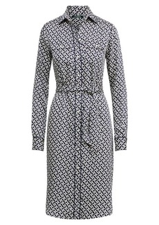 Ralph Lauren Geo-Print Twill Shirtdress