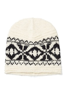 Ralph Lauren Geometric Cotton-Blend Hat