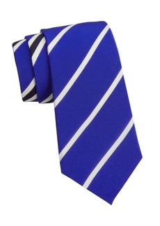 Ralph Lauren Geometric Striped Silk Tie