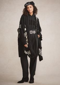 Ralph Lauren Geometric Wool-Blend Cardigan