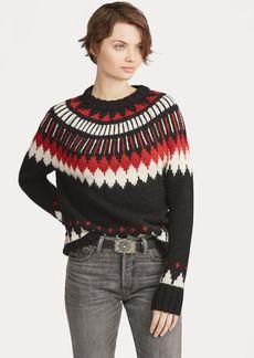 Ralph Lauren Geometric Wool-Blend Sweater