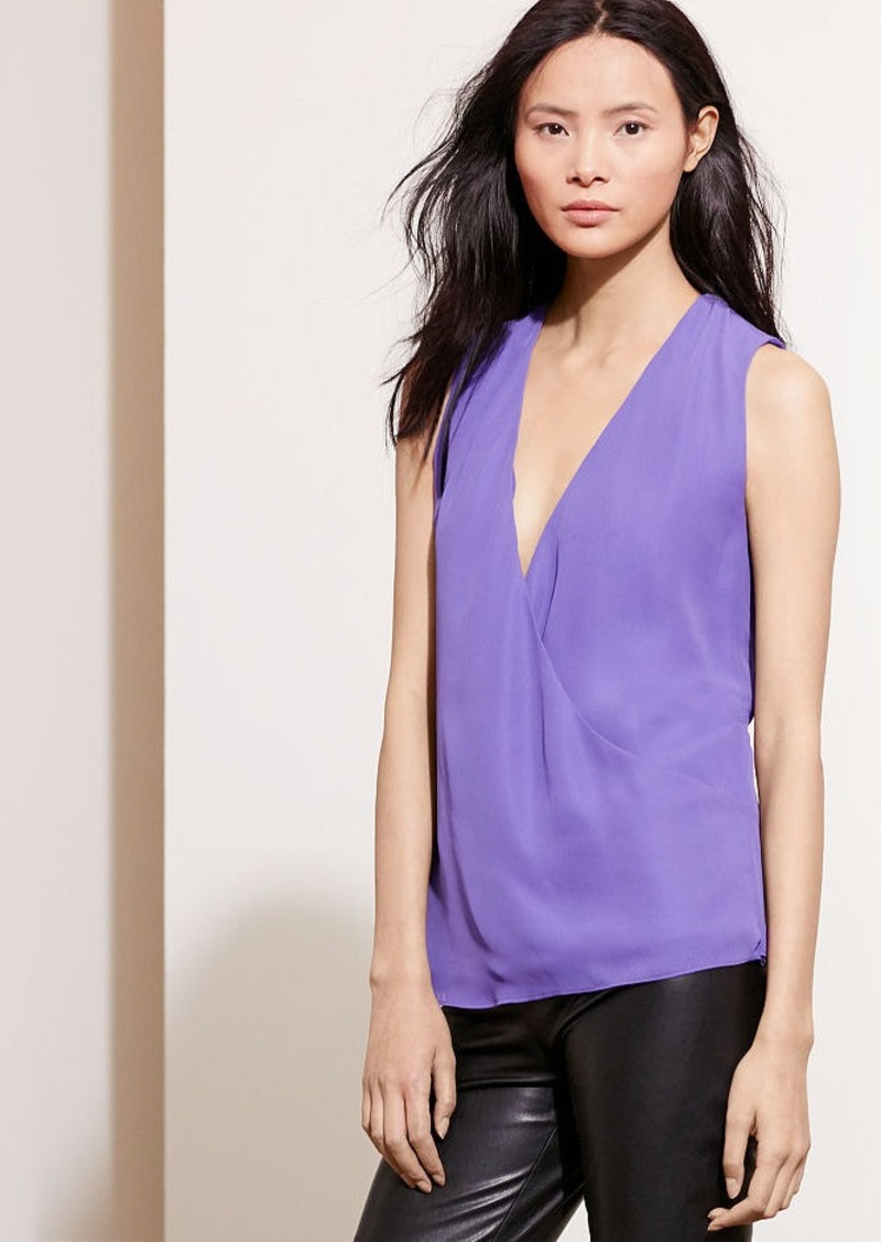 Ralph Lauren Georgette Sleeveless Blouse