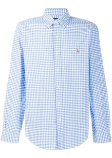 Ralph Lauren gingham check logo shirt