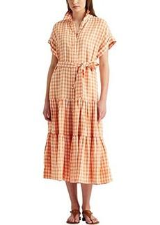 Ralph Lauren Gingham Linen Shirtdress