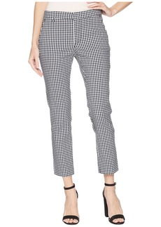 Ralph Lauren Gingham Skinny Stretch Pants