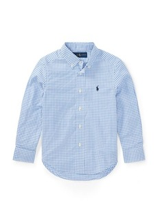 Ralph Lauren Gingham Stretch Cotton Shirt