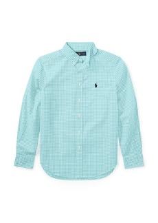 Ralph Lauren Gingham Stretch Cotton Shirt