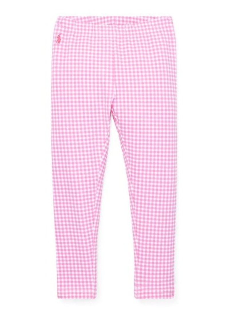 Ralph Lauren Gingham Stretch Legging