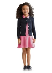 Ralph Lauren Girl's Cable-Knit Cotton Cardigan