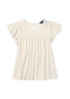Ralph Lauren Girl's Cotton Top