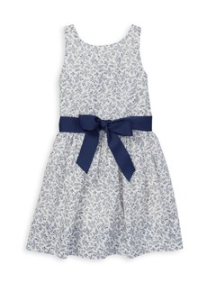 Ralph Lauren Girl's Fit-&-Flare Dress