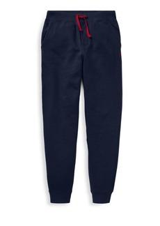 Ralph Lauren Girl's Fleece Jogging Pants
