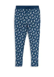 Ralph Lauren Girl's Floral Print Pants