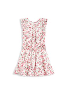 Ralph Lauren Girl's Floral Ruffle Dress