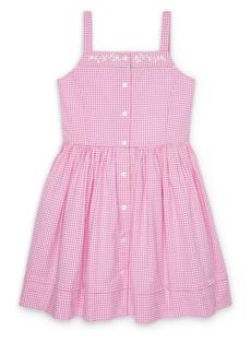 Ralph Lauren Little Girl's & Girl's Gingham Cotton Fit & Flare Dress