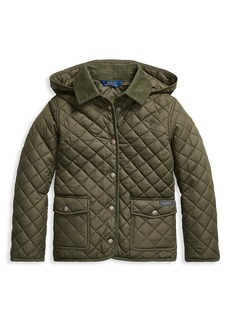 Ralph Lauren Girl's Quilted Water-Repellent Jacket