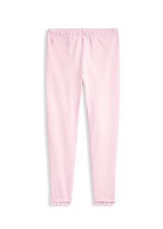 Ralph Lauren Girl's Ruffle Cuff Leggings