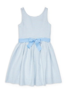 Ralph Lauren Girl's Stripe Cotton Dress