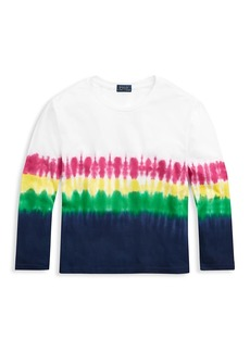 Ralph Lauren Girl's Tie-Dye Jersey T-Shirt