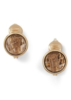 Ralph Lauren Glass Clip-On Earrings