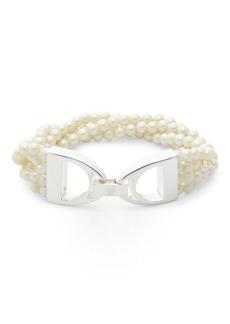 Ralph Lauren Glass Pearl Bracelet