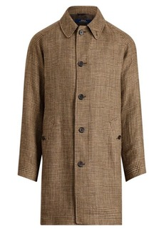 Ralph Lauren Glen Plaid Balmacaan Topcoat