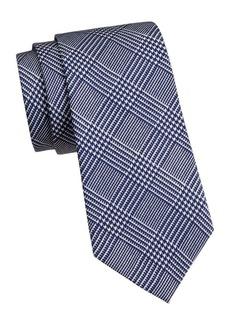Ralph Lauren Glen Plaid Silk Tie